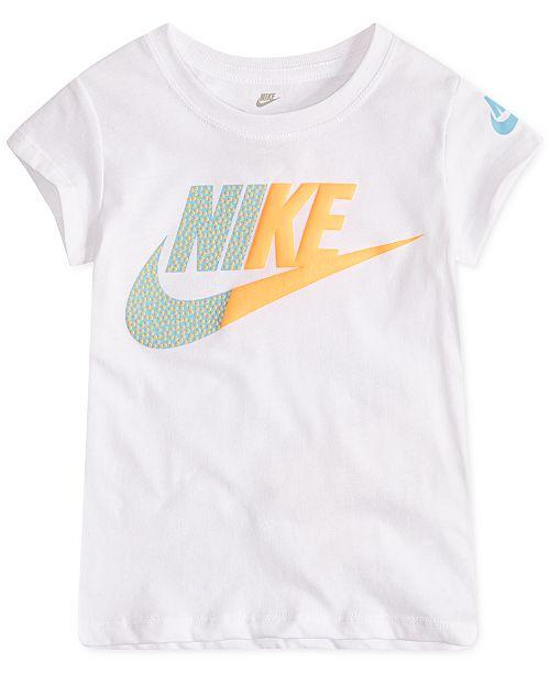 6edf4c52c080a Nike Toddler Girls Futura-Print T-Shirt   Reviews - Shirts   Tees ...