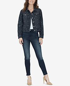 WILLIAM RAST Core Studded Denim Jacket