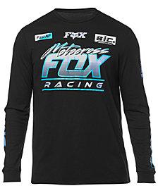 Fox Men's Long-Sleeve Jetskee Graphic Mesh T-Shirt