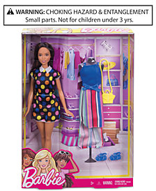 Mattel Barbie Doll & Fashion Set
