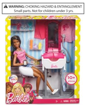 Mattel Barbie Doll  Salon Playset