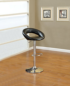 Ring Bar Stool, Black