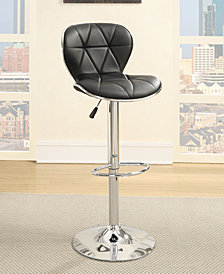 Black Bar Stools, Set of 2