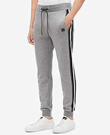 Calvin Klein Men's Striped Knit Jogger Pants