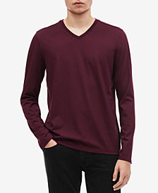 Calvin Klein Men's Slim-Fit V-Neck Sweater