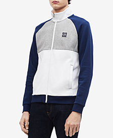 Calvin Klein Men's Colorblocked Mock-Neck Jacket