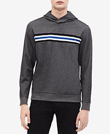 Calvin Klein Men's Inset Striped Hoodie