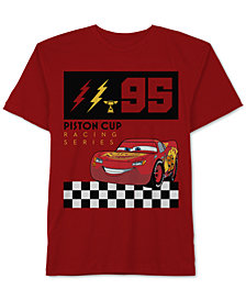 Cars Toddler Boys Lightning McQueen Graphic Cotton T-Shirt