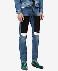 Calvin Klein Jeans Men's Slim-Fit Blocked Patches Jeans