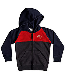 Quiksilver Toddler Boys Colorblocked Fleece Zip-Up Hoodie