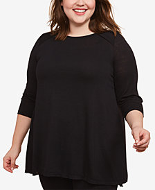 Jessica Simpson Plus Size Nursing Top