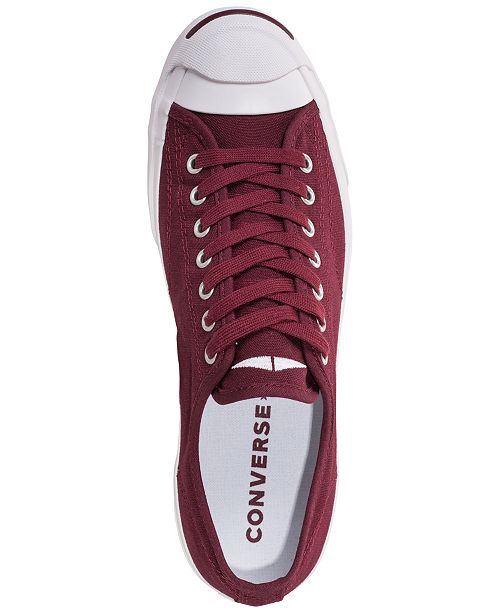 66c144626d4e ... Converse Men s Jack Purcell Jack Ivy Campus Low Top Casual Sneakers  from Finish ...