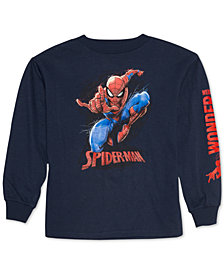Marvel Little Boys Spider-Man Graphic Cotton T-Shirt