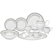 Bolla 57 Piece Dinnerware Set, Service for 8