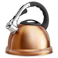 Stainless Steel 2.85-Qt. Whistling Tea Kettle