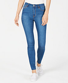 Kendall + Kylie The Sultry Super High-Rise Retro Skinny Jeans