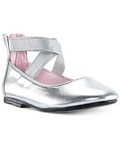 8c2e6e53db6fb Silver Toddler Girl Shoes - Macy's