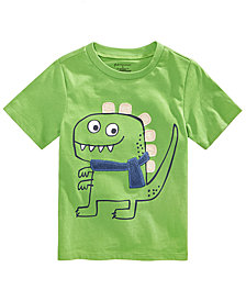 First Impressions Toddler Boys Dino-Print Graphic Cotton T-Shirt, Created for Macy's