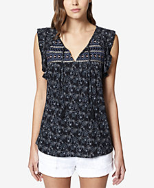 Sanctuary Wild Belle Ruffled Top