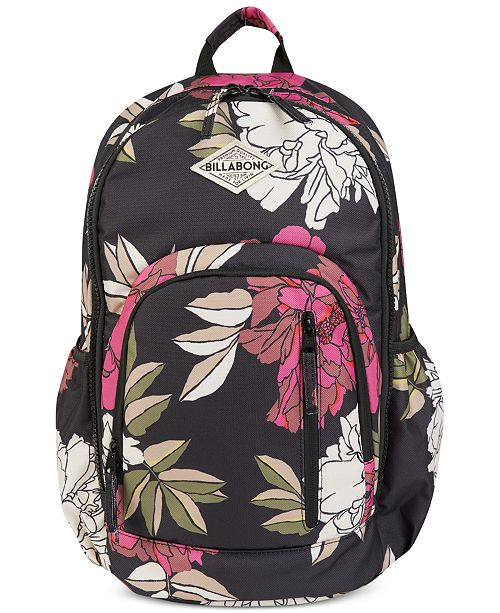 Roadie Striped Backpack Light Billabong Pastel Pink q5Tvwwd