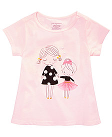 First Impressions Toddler Girls Sisters Graphic Cotton Tunic, Created for Macy's