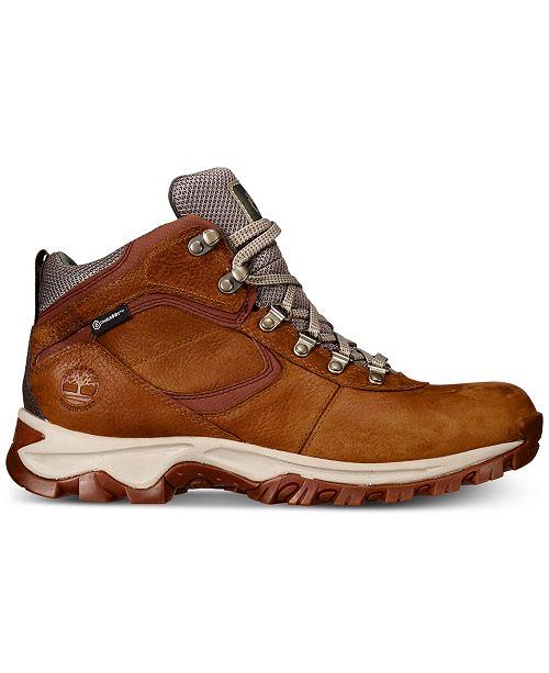 5383f8e3ff8d7 Timberland Men s Mt. Maddsen Full-Grain Waterproof Boots   Reviews ...