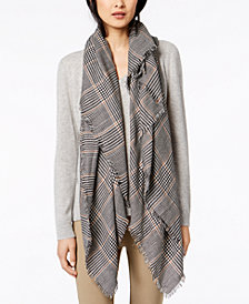 Weekend Max Mara Detroit Plaid Scarf