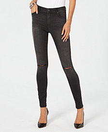 I.N.C. Petite Ripped Skinny Jeans, Created for Macy's