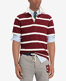 Polo Ralph Lauren Men's Iconic Cotton Striped Rugby Shirt
