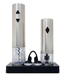 Vinotemp Electric Corkscrew And Wine Preserver Set