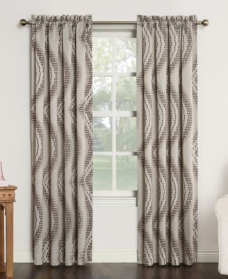 "Coda Room Darkening Woven Curtain 54"" x 95"" Panel"