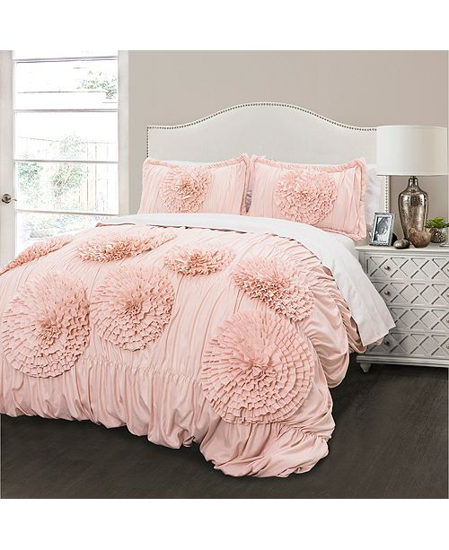 Lush Decor Serena King Comforter 3Pc Set