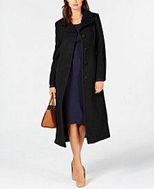 Single-Breasted Maxi Coat
