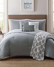 Jennifer Adams Darby King 7 Pc Comforter Set