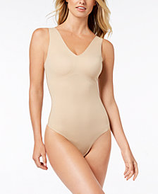 Calvin Klein Invisibles Slips V-Neck Bodysuit QF4892