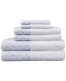 Eileen West Cotton 6-Pc. Towel Set