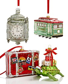 Holiday Lane Travel Ornament Collection, Created for Macy's