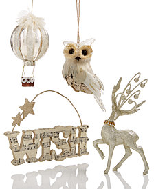 Holiday Lane Sparkling Ornament Collection, Created for Macy's