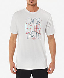 Jack O'Neill Men's Shacked Logo Graphic T-Shirt