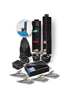 30-Piece Bundle Plus Door Hook, Black