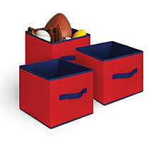3-Pack Textured Bins