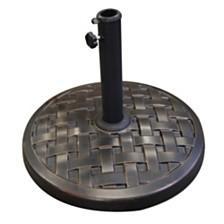 Round Umbrella Base - Antique Bronze