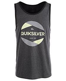Quiksilver Men's A Cut Above Logo Graphic Tank