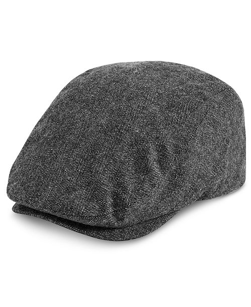 96808d5131dd83 Levi's Men's Herringbone Flat Top Ivy Hat & Reviews - Hats, Gloves ...