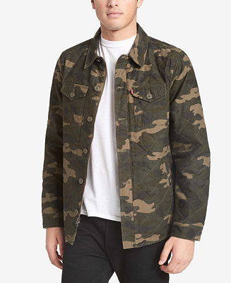 Levi S Men S Camo Shirt Jacket Coats Amp Jackets Men