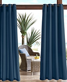 "Pacifica 54"" x 95"" Grommets Solid 3M Scotchgard Outdoor Panel"