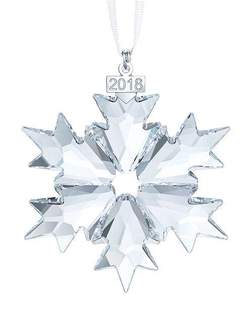 700e63fe3 Swarovski Annual 2018 Edition Ornament & Reviews - Christmas ...