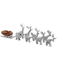 Nambé Mini Reindeer 9-Pc. Set
