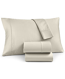 Charter Club Egyptian Cotton 700 Thread Count 4-Pc. Solid King Sheet Set, Created for Macy's