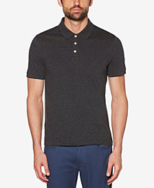 Original Penguin Men's Yarn-Dyed Feeder-Stripe Polo
